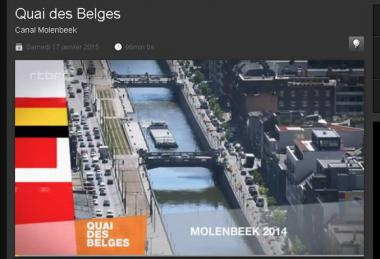 Canal Molenbeek on ARTE-Belgique