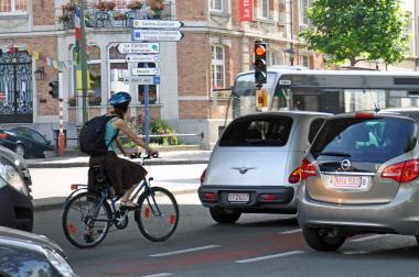 With Cyclovia, we can cycling safely in the center  - ©EAS - ADT