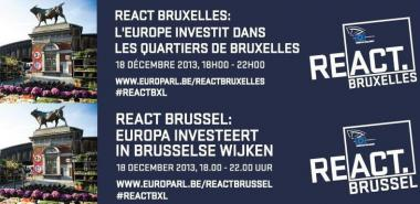 "Public discussion: ""Europe invests in the districts of Brussels"""