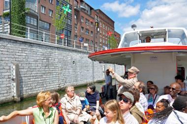 Les parcours en bateau de La fonderie - ©EAS - ADT