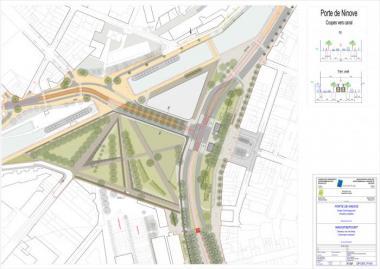 Porte de Ninove Park: planning permission issued