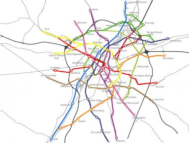 Plan for 400 km of cycle paths