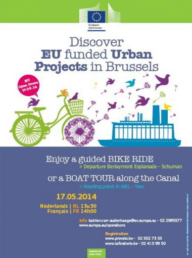 Discover Europe funded projects in Brussels