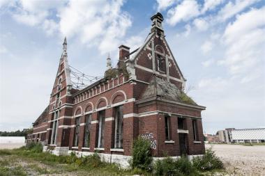 L'ancienne gare de service - ©sau-msi.brussels (Reporters)