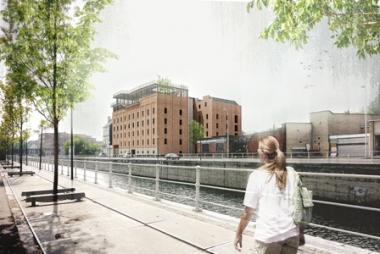 Le futur visage des anciens moulins. - ©BOGDAN & VAN BROECK ARCHITECTS