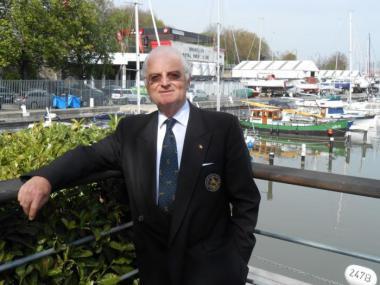Le commodore Alain Radelet, qui est à la tête du conseil d'administration du BRYC. - ©ADT-ATO/Véronique Kirszbaum