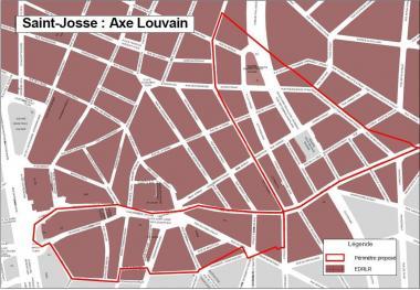 Nouveau contrat de Quartier Durable «Axe Louvain»