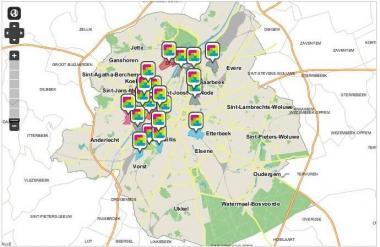 Quatre nouveaux Contrats de Quartier Durables pour 2014-2018