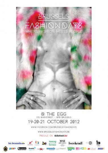 Brussels Fashion Days, clap première