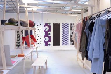Le pop-up store  « Brussels boutikq » montre Bruxelles comme une capitale créative dans le monde de la mode et du design - ©MODO Brussels