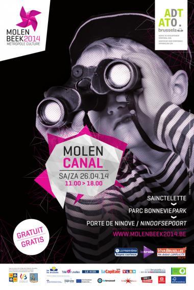 «MolenCanal», ou le canal revisité par Molenbeek 2014