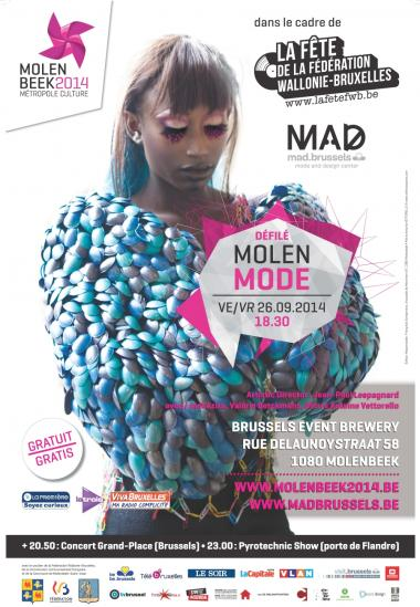 Molenbeek 2014 défile avec MolenMode