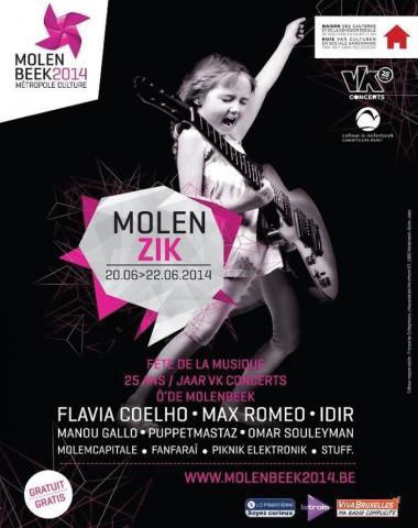 Molenbeek 2014 se la joue «MolenZik»