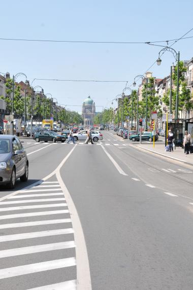 Le boulevard Léopold II - ©Commune de Molenbeek