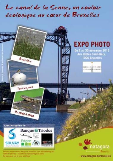 Exposition «Le Canal de la Senne, un corridor écologique au cœur de Bruxelles»