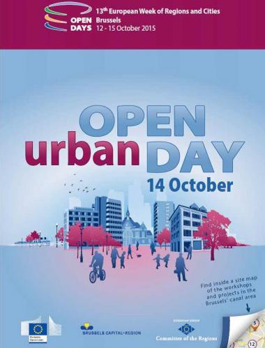 Open Urban Day centré sur le territoire du canal