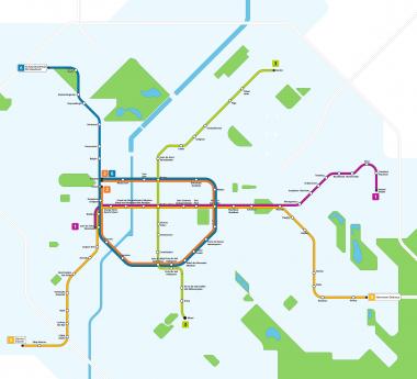 Feu vert pour les plans du métro Evere-Forest