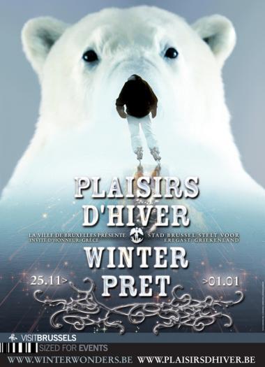 Plaisirs d'hiver - L'affiche 2011 - ©www.plaisirsdhiver.be