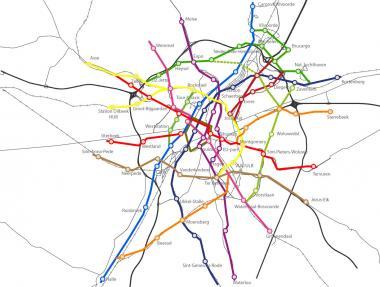 RER-vélo: plan pour 400 km de routes cyclables