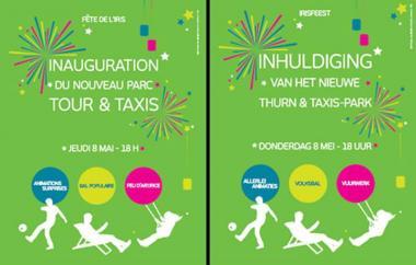 Tour et Taxis: inauguration du nouveau parc le 8 mai