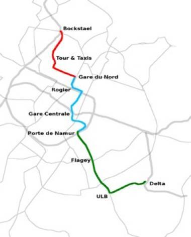 Une nouvelle ligne de tram vers Tour et Taxis