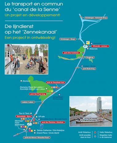 Waterbus, le transport en commun fluvial du territoire du canal