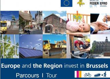 """Parcours-découvertes """"L'Europe et la Région investissent dans votre avenir!"""""""