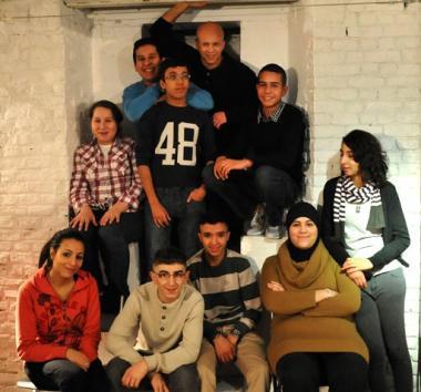 Les acteurs du spectacle. - ©Maison des Cultures - Marysia De Pourbaix