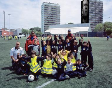 FC Jeunesse Molenbeek > Zinedine Zidane.  - ©ADT / Kurt Deruyter