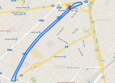 Eerste Brussels Canal Run op 7 november