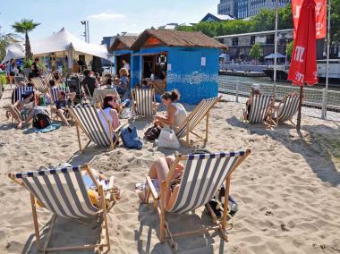 La plage de Bruxelles les Bains - ©EAS - ADT