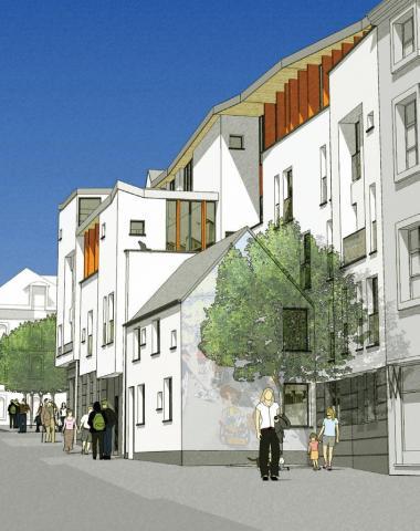 15 nieuwe woningen op het Vossenplein