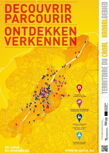 Hedendaagse architectuur en industrieel, burgerlijk en religieus erfgoed in het Kanaalgebied