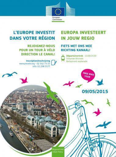 Brusselse wielerklassieker 'Berlaymont-Kanaal'