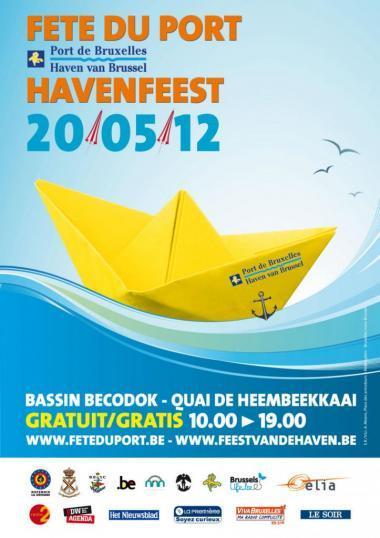 12de editie van het Havenfeest op 20 mei