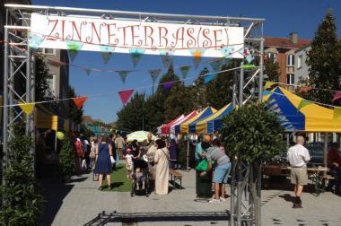 """""""Zinneterras(se)"""": activiteiten en gezelligheid op de markt van Molenbeek"""