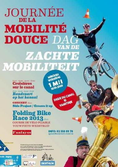 Dag van de Zachte Mobiliteit in Anderlecht