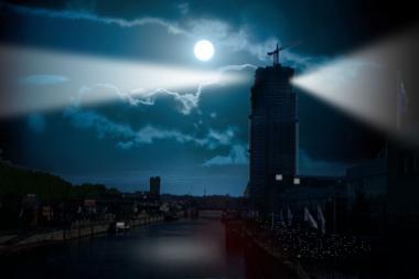 Het  Brussels Light Festival in de schijnwerpers