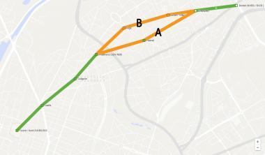 Het Gewest laat twee tracés voor Metro Noord verder onderzoeken