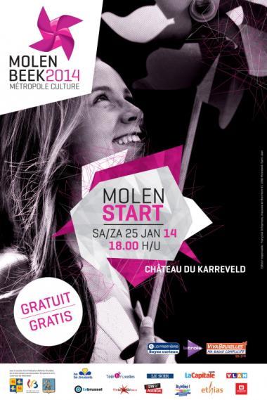 Molenbeek, Culturele Hoofdstad 2014 gaat van start met MolenStart