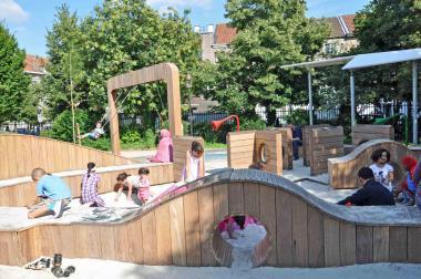 De sandbox voor kleine kinderen - ©EAS - ADT