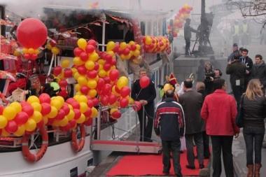 De blijde intocht van 2011. - ©www.brusselsbywater.be