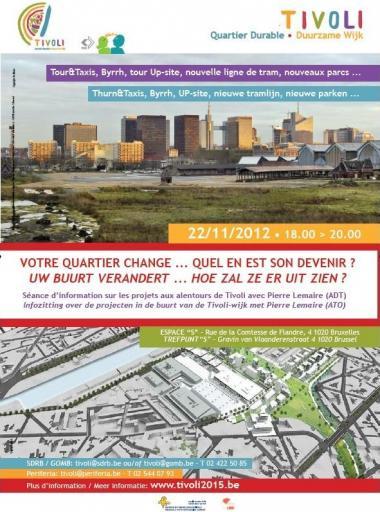 Infozitting over de projecten in de buurt van de Tivoli-wijk