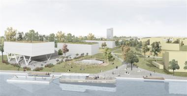 Nieuwe school voor 1.200 leerlingen aan het kanaal