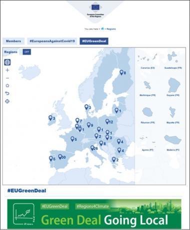 Ruimtelijke planning van kanaalzone een van de 'best practices' van 'EU Green Deal'