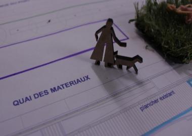 Materialenkaai: wandeling met gids en participatief project