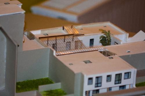 Maison BILOBA Huis seniorenwoningen in Schaarbeek Canal brussels # Maison En Bois Gard