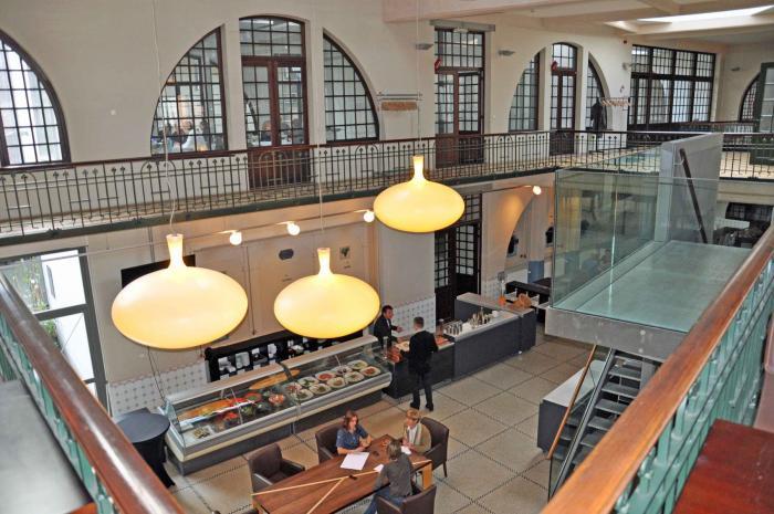 Palais du vin les ateliers des tanneurs for Architecture interieur bruxelles